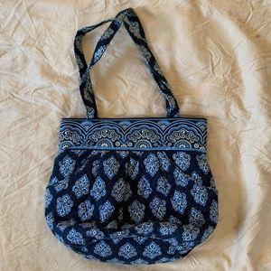 Vera Bradley Blue Paisley Shoulder Bag